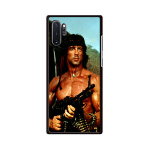Sylvester Stallone Story Notes For Rambo Samsung Galaxy Note 10 Plus Case | Babycasee