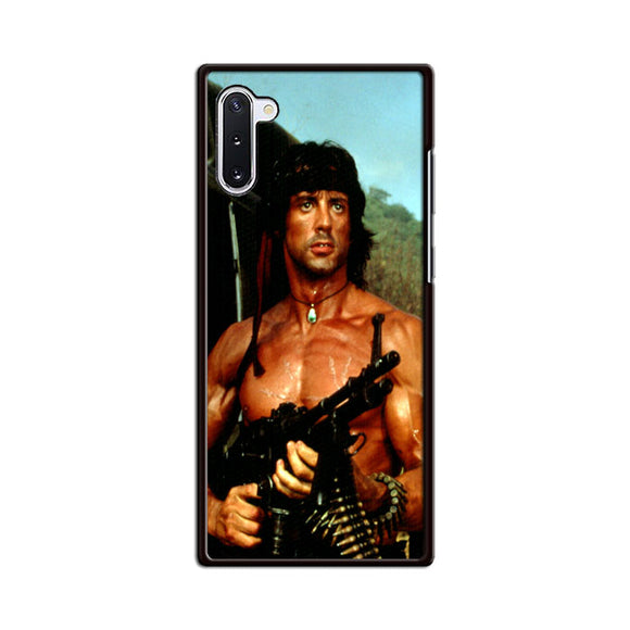 Sylvester Stallone Story Notes For Rambo Samsung Galaxy Note 10 Case | Babycasee