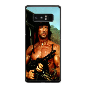 Sylvester Stallone Story Notes For Rambo Samsung Galaxy Note 8 Case | Babycasee