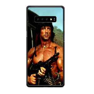 Sylvester Stallone Story Notes For Rambo Samsung Galaxy S10e Case | Babycasee