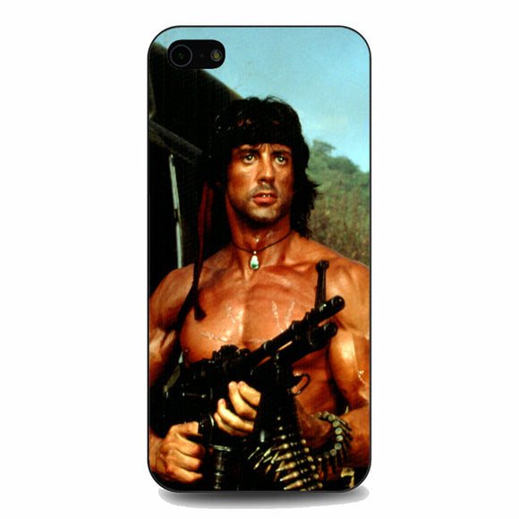 Sylvester Stallone Story Notes For Rambo iPhone 5|5S|SE Case | Babycasee