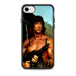 Sylvester Stallone Story Notes For Rambo iPhone 8 Case | Babycasee