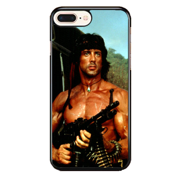Sylvester Stallone Story Notes For Rambo iPhone 8 Plus Case | Babycasee