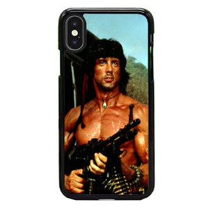 Sylvester Stallone Story Notes For Rambo iPhone XS Case | Babycasee