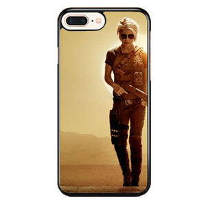 Terminator Dark Fate Trailer Linda Hamilton Brings A Bazooka iPhone 8 Plus Case | Babycasee