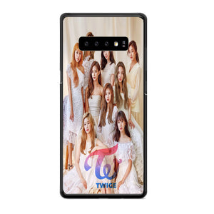 Twice Kpop Group Members Samsung Galaxy S10 Plus Case | Babycasee