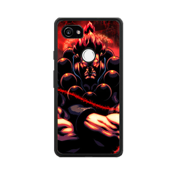 Akuma Street Fighter Red Energy Google Pixel 2 Case | Babycasee