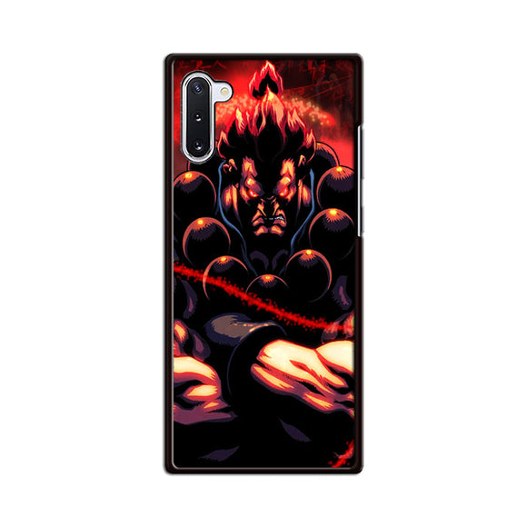 Akuma Street Fighter Red Energy Samsung Galaxy Note 10 Case | Babycasee