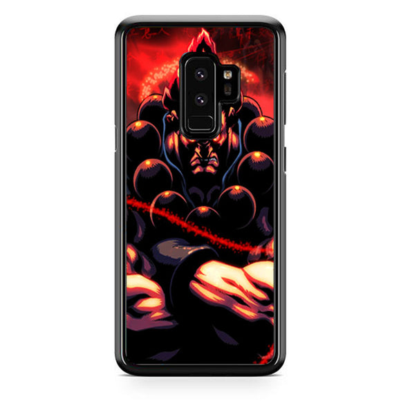 Akuma Street Fighter Red Energy Samsung Galaxy S9 Plus Case | Babycasee