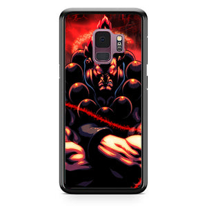 Akuma Street Fighter Red Energy Samsung Galaxy S9 Case | Babycasee