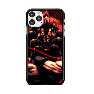 Akuma Street Fighter Red Energy iPhone 11 Pro Case | Babycasee
