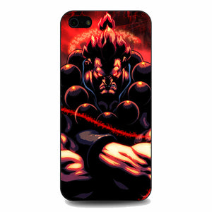 Akuma Street Fighter Red Energy iPhone 5|5S|SE Case | Babycasee