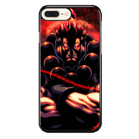 Akuma Street Fighter Red Energy iPhone 7 Plus Case | Babycasee