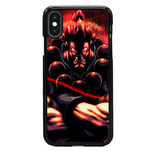 Akuma Street Fighter Red Energy iPhone X Case | Babycasee