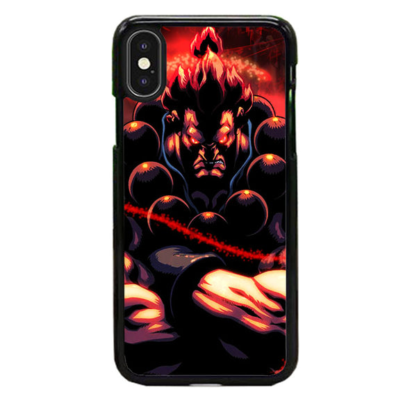Akuma Street Fighter Red Energy iPhone XS Max Case | Babycasee