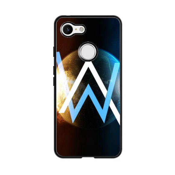 Alan Walker Galaxy Planet Google Pixel 3 Case | Babycasee