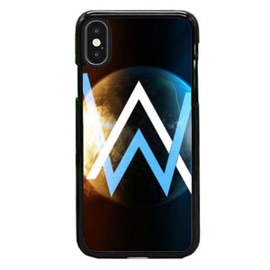 Alan Walker Galaxy Planet iPhone XS Case | Babycasee
