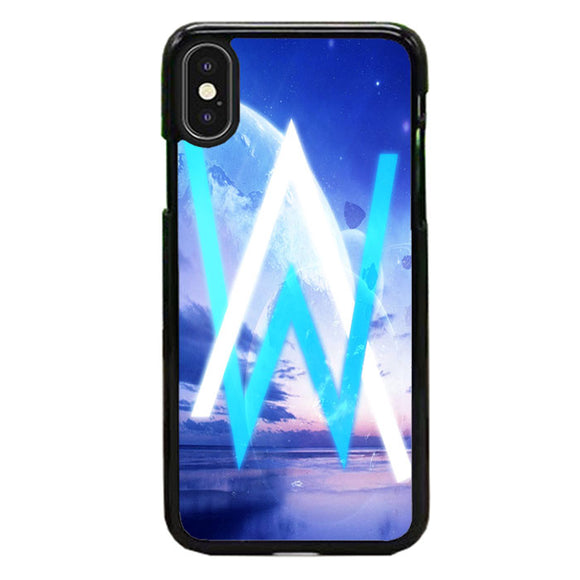 Alan Walker In The Galaxy iPhone X Case | Babycasee