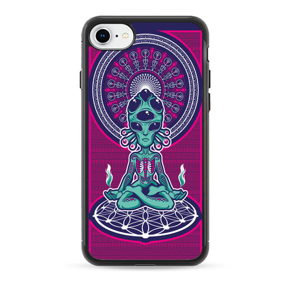 Alien Exist Meditation iPhone 7 Case | Babycasee