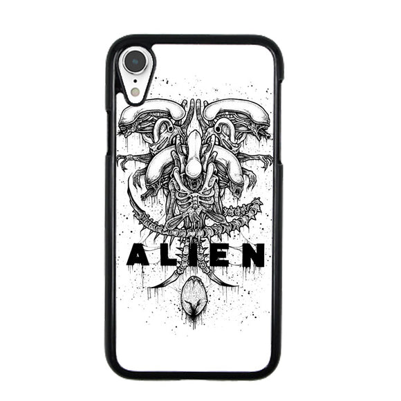 Alien Pointilsm Style iPhone XR Case | Babycasee