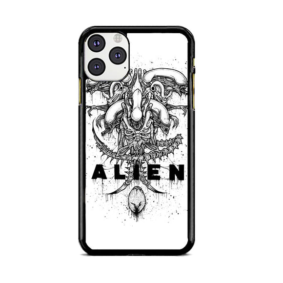 Alien Pointilsm Style iPhone 11 Pro Max Case | Babycasee