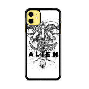 Alien Pointilsm Style iPhone 11 Case | Babycasee