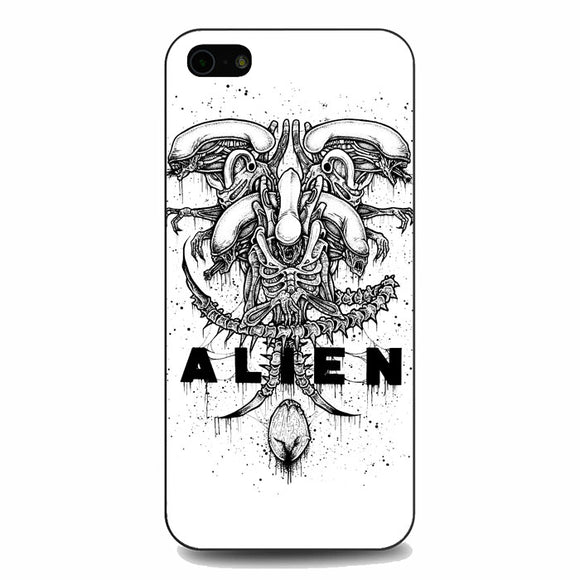 Alien Pointilsm Style iPhone 5|5S|SE Case | Babycasee