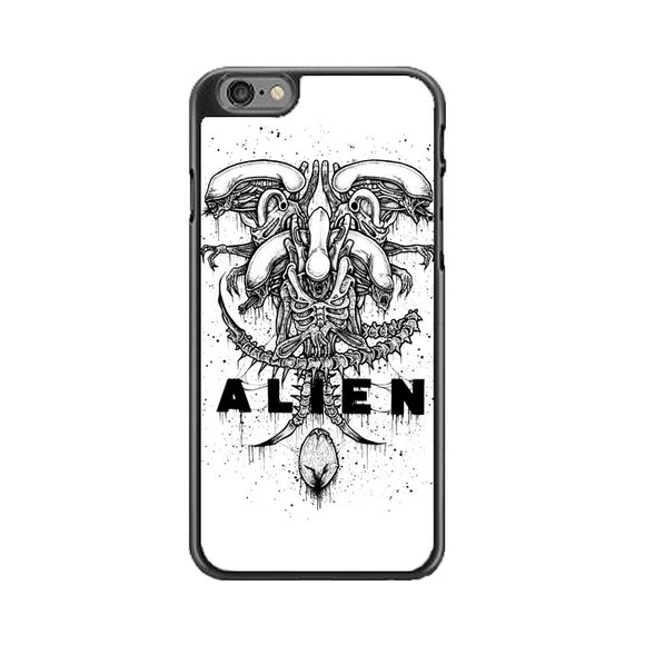 Alien Pointilsm Style iPhone 6 Plus|6S Plus Case | Babycasee