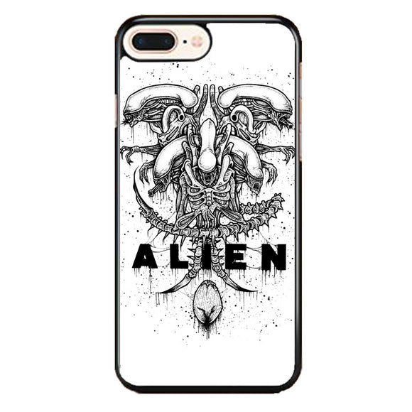Alien Pointilsm Style iPhone 8 Plus Case | Babycasee