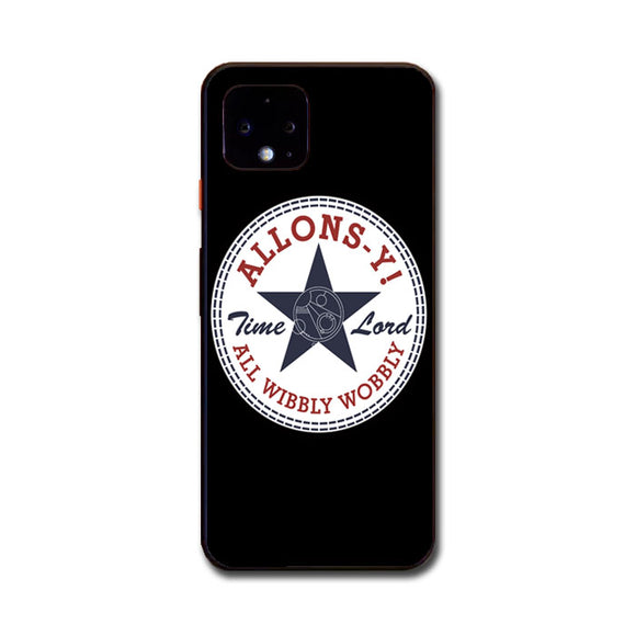 Allons Time Lord Converse Google Pixel 4 XL Case | Babycasee