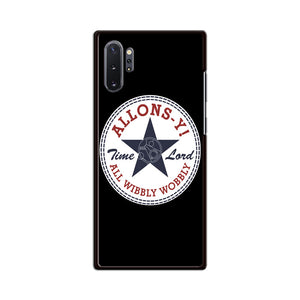 Allons Time Lord Converse Samsung Galaxy Note 10 Plus Case | Babycasee