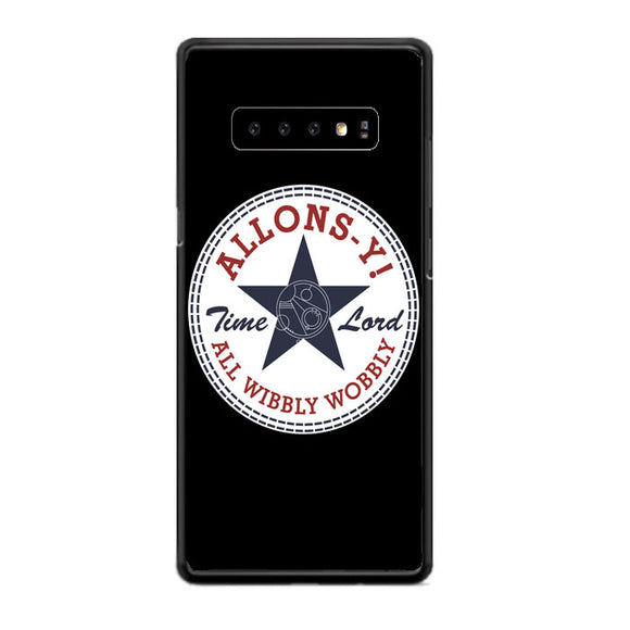 Allons Time Lord Converse Samsung Galaxy S10e Case | Babycasee