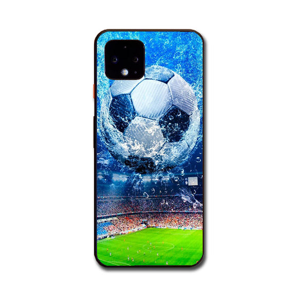 Aqua Stadium Football Google Pixel 4 XL Case | Babycasee