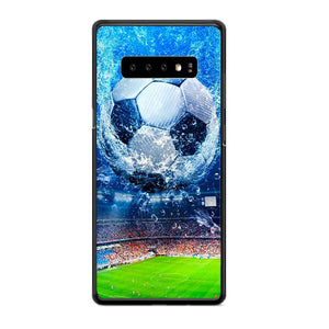 Aqua Stadium Football Samsung Galaxy S10e Case | Babycasee
