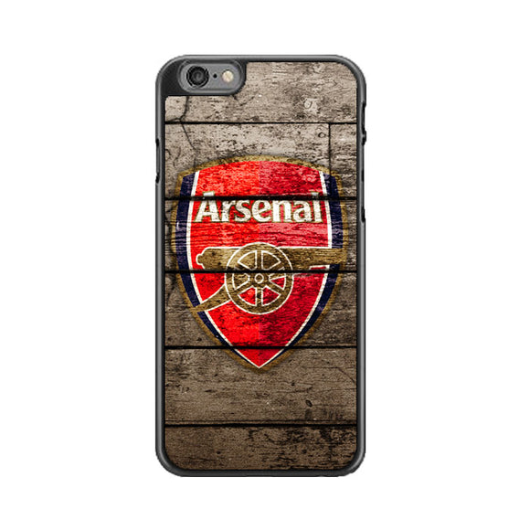 Arsenal With Wood Texture iPhone 6|6S Case | Babycasee