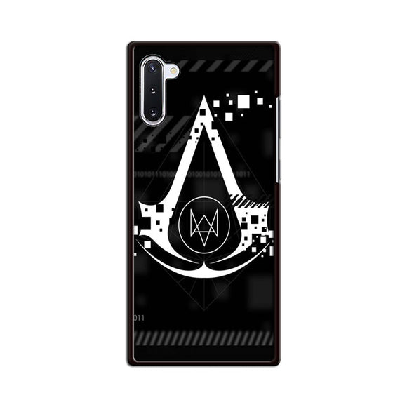 Assasin Creed X Watchdogs Samsung Galaxy Note 10 Case | Babycasee