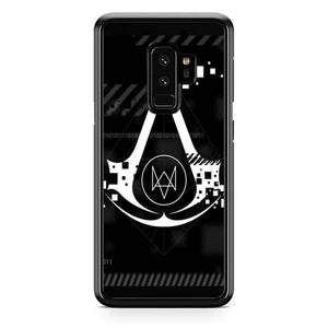 Assasin Creed X Watchdogs Samsung Galaxy S9 Plus| Babycasee