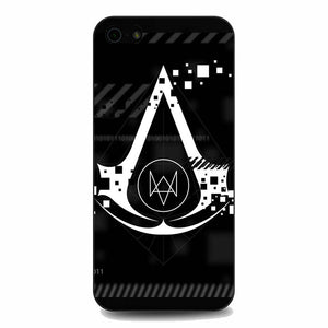 Assasin Creed X Watchdogs iPhone 5|5S|SE Case | Babycasee