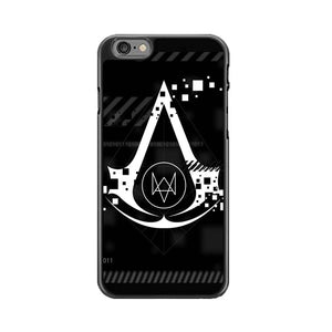 Assasin Creed X Watchdogs iPhone 6|6S Case | Babycasee