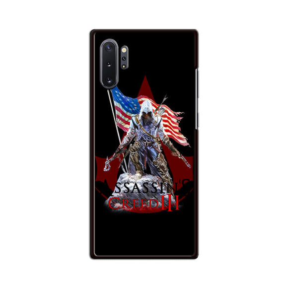 Assassin Creed 3 American Flag Samsung Galaxy Note 10 Plus Case | Babycasee