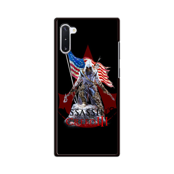Assassin Creed 3 American Flag Samsung Galaxy Note 10 Case | Babycasee