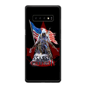 Assassin Creed 3 American Flag Samsung Galaxy S10 Case | Babycasee