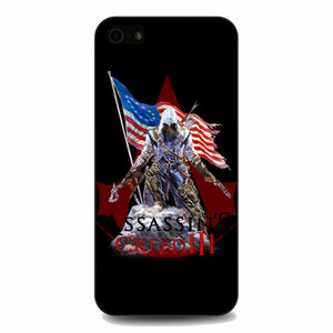 Assassin Creed 3 American Flag iPhone 5|5S|SE Case | Babycasee