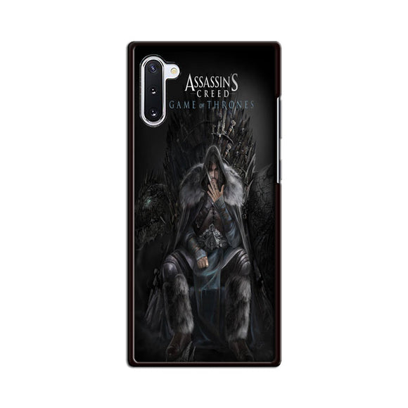 Assassins Creed Game Of Throne Samsung Galaxy Note 10 Case | Babycasee