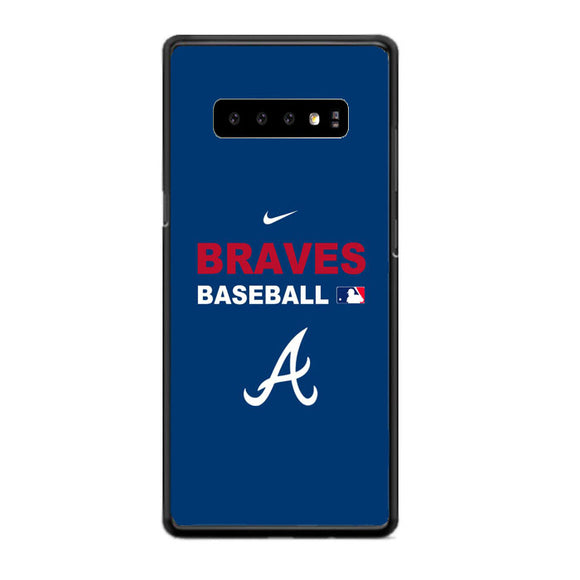 Atlanta Braves Basball Club Blue Samsung Galaxy S10e Case | Babycasee