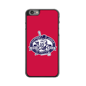 Atlanta Braves Basball Club Red iPhone 6|6S Case | Babycasee