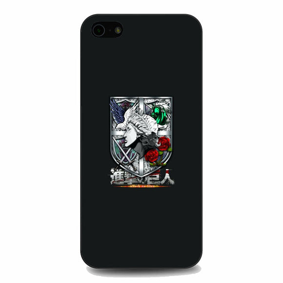 Attack On Titan All Emblem iPhone 5|5S|SE Case | Babycasee