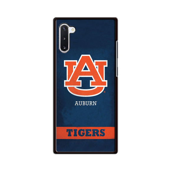 Auburn The Tiger With Texture Grunge Samsung Galaxy Note 10 Case | Babycasee