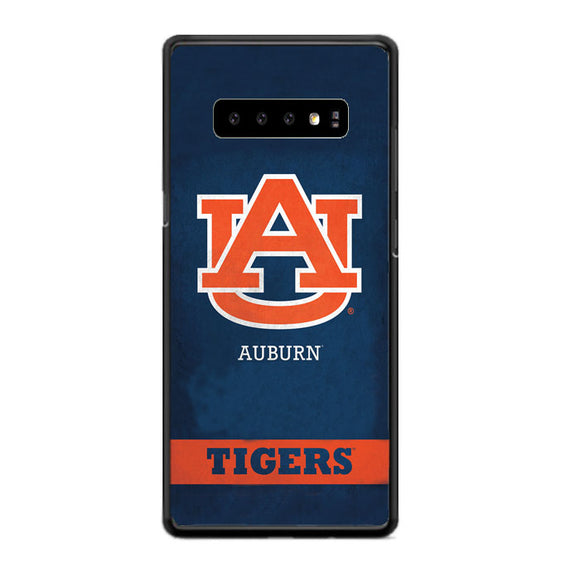 Auburn The Tiger With Texture Grunge Samsung Galaxy S10 Case | Babycasee