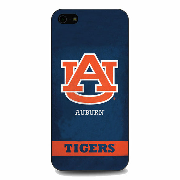 Auburn The Tiger With Texture Grunge iPhone 5|5S|SE Case | Babycasee